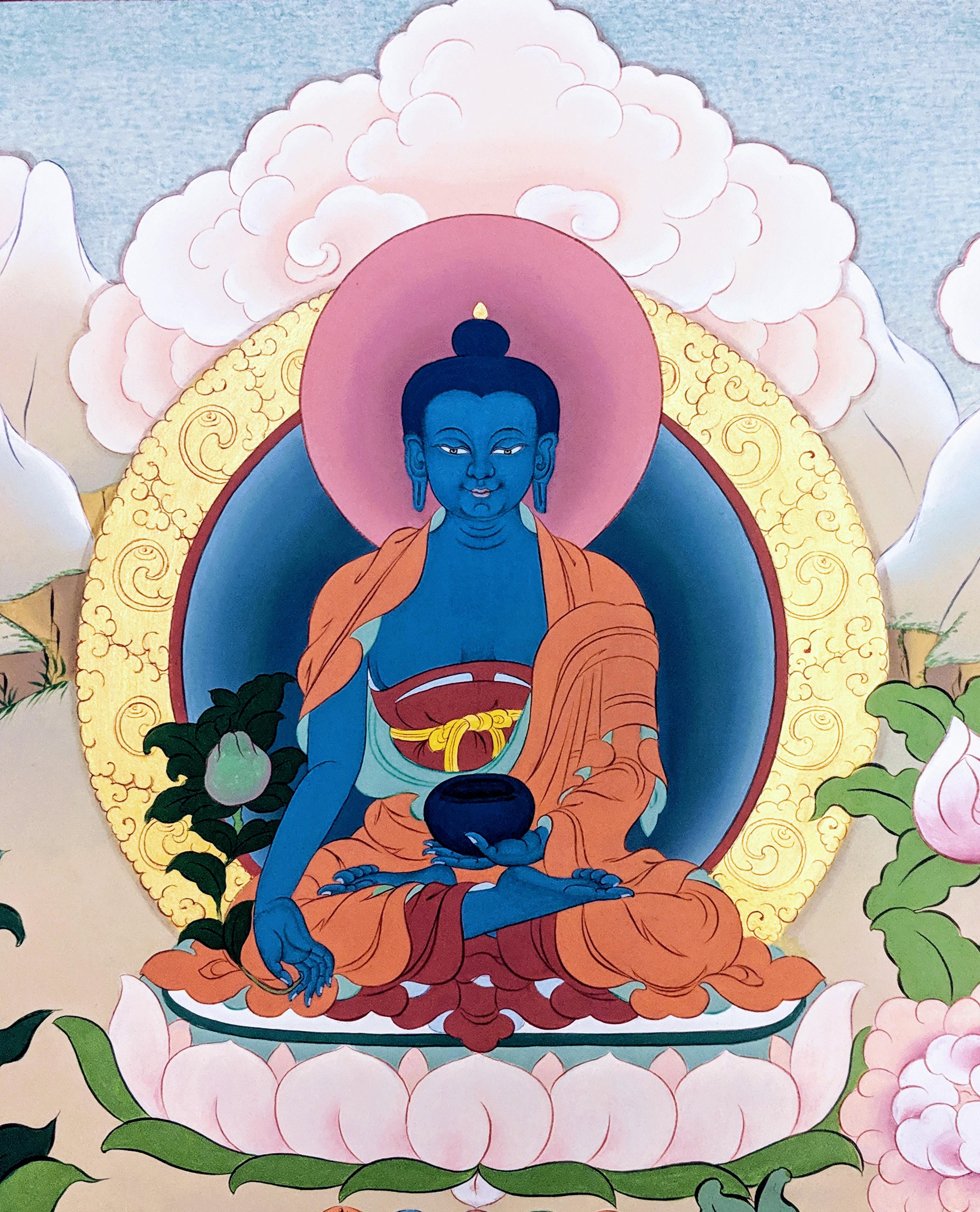 Medicine Buddha Cover
